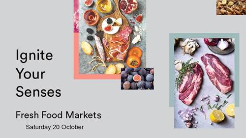 Fresh Food Markets This Saturday!